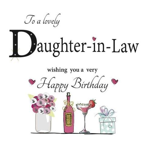 birthday wishes for daughter in law best daughter in law