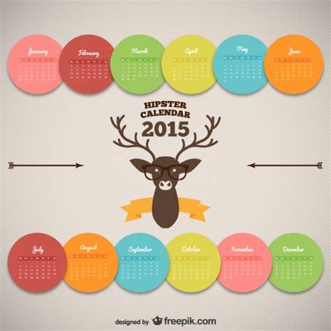 calendar new design vector hipster calendar design vector free download