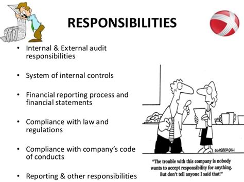 Auditors Duties And Responsibilities by Audit Committees And Its In Auditing Process