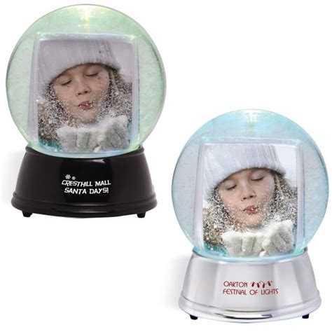 large light up snow globe with your logo minithrowballs com