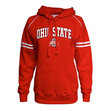 l apparel ohio state ohio state buckeyes womens hooded sweatshirt 437926