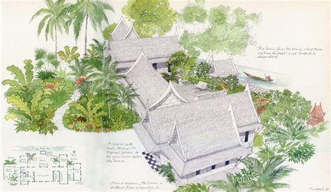 jim thompson the thai silk sketchbook books jim thompson thai house and museum