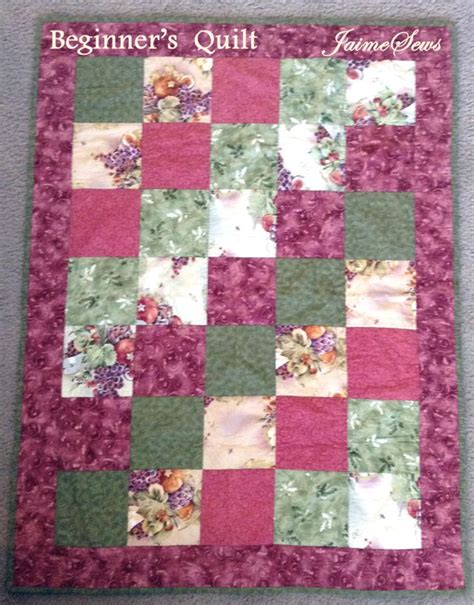 quilting tutorial pinterest beginner s quilt tutorial jaimesews sew it pinterest