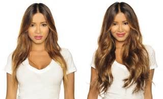hair extensions for hair before and after hair extensions before after