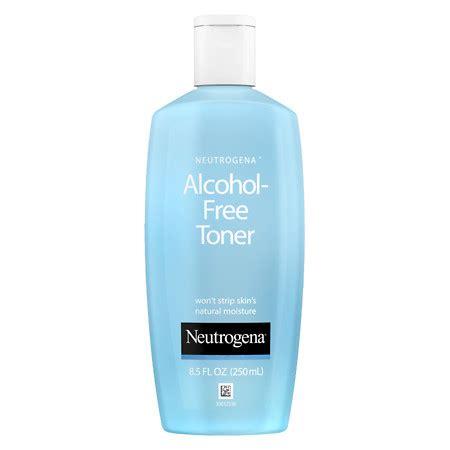 Toner Make Up neutrogena free skin toner liquid walgreens