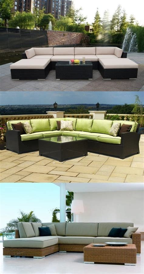 durable patio furniture durable patio furniture from wicker and rattan sets