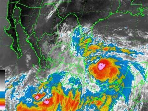 imagenes satelitales del servicio meteorologico nacional alerta en cuatro estados por ingrid y manuel