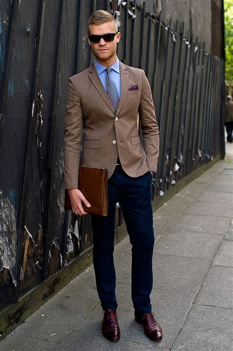 Blue Dress Shirt Black Brown Shoes by What To Wear With Brown Shoes Ideas Hq