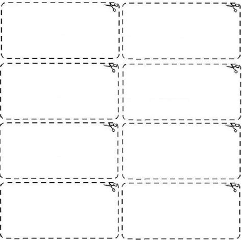 blank coupons templates blank coupon template design vector with black and white