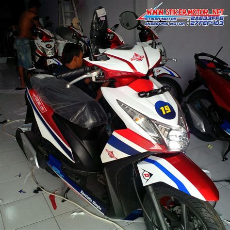 Striping Honda Beat Fi 2 testimonials stikermotor net part 7