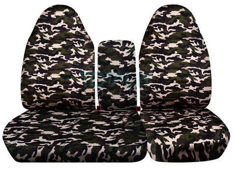 blue camouflage car seat covers realtree camo car seat covers bench seats upcomingcarshq