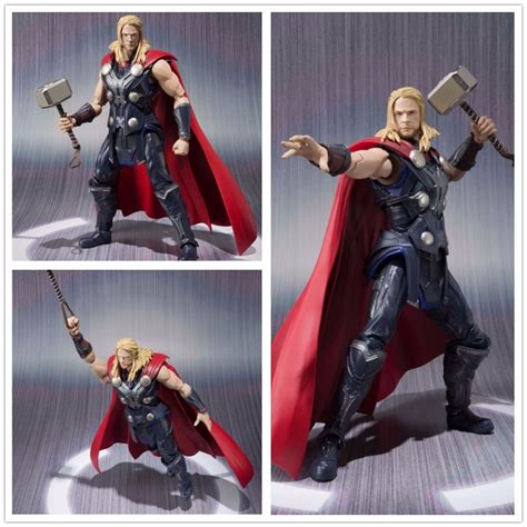 Shf The Age Of Ultron Thor Kw popular figurines buy cheap figurines lots from china figurines suppliers on