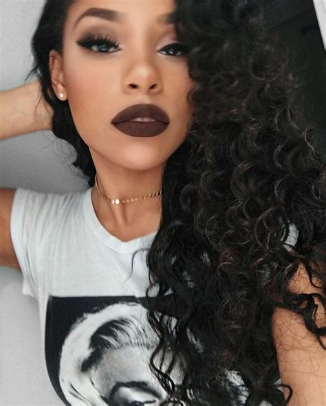 black hair worn up 5 lipstick shades that are perfect for this season beauty