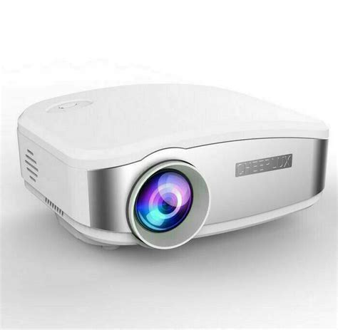 Proyektor Buat Hp cheerlux c6 mini projector proyektor with 1200 lumens