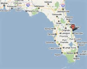 where is cocoa florida on map sighting reports 2011