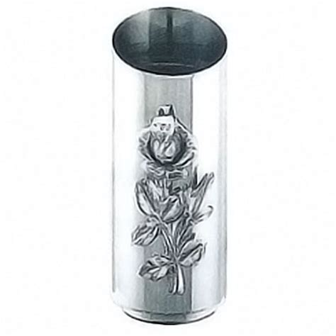 vasi acciaio vasi portafiori per lapidi e tombe in bronzo marmo e acciaio