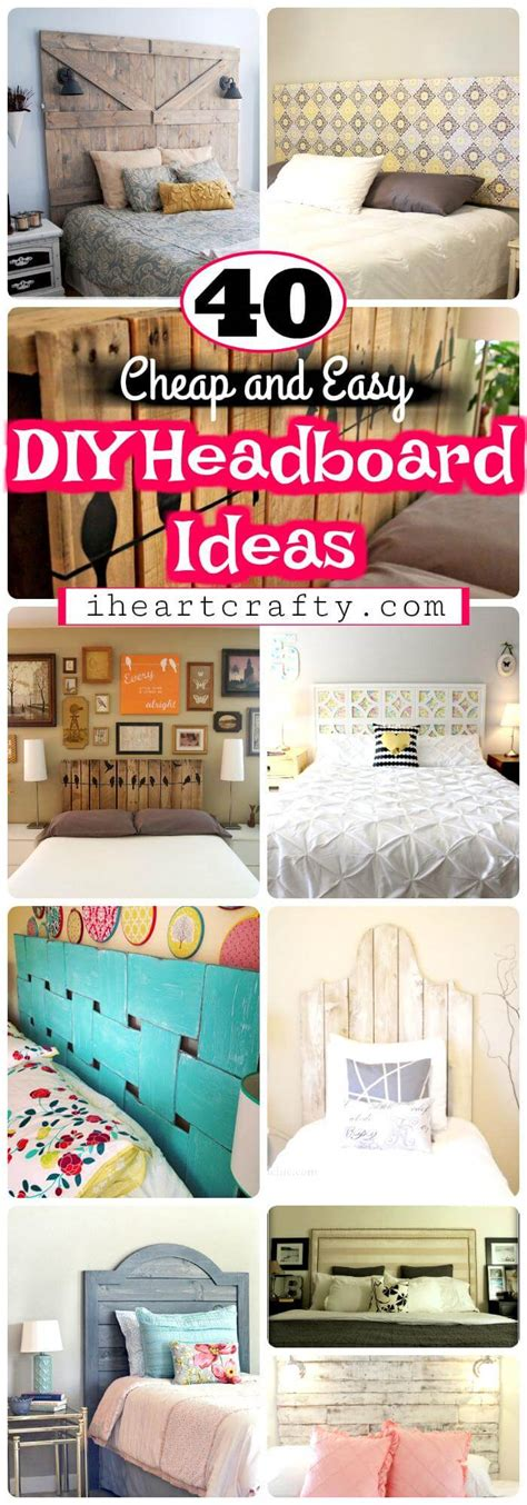 cheap and easy headboard ideas diy headboards 40 cheap and easy diy headboard ideas i