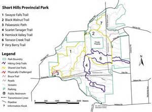 short hills provincial park   maplets