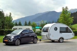 Fiat Caravan Fiat 500 With T B Caravan Combination My