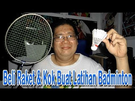 Raket Badminton Hq beli raket kok buat latihan badminton