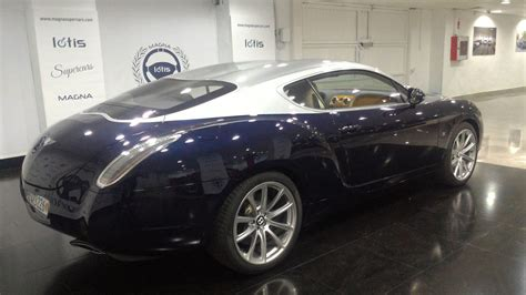 bentley made bentley continental gtz for sale is one of just nine