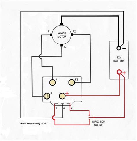 winch motor wiring diagram for generator wiring diagram