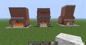 minecraft interior decorating and chimney design ideas