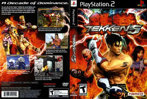 Emuparadise Game Ps2 | tekken 5 usa iso