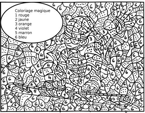 Coloriage Magique 192 Dessins 224 Imprimer Et 224 Colorier