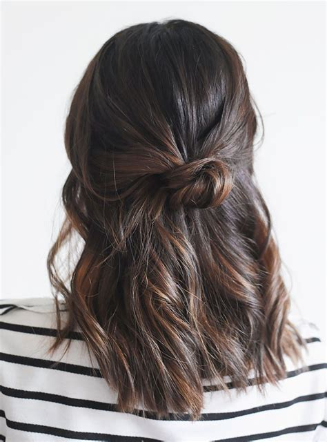half messy bun trend stalk the half up bun 40 photos 2017 hairstyle guru