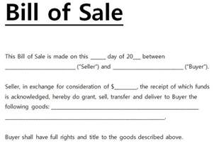 simple bill of sale for car template free printable bill of sale templates form generic