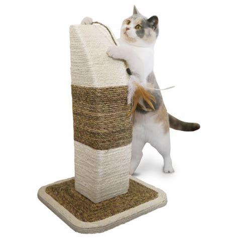 Fabriquer Griffoir Chat by Griffoir 100 Sisal Avec Plumes Griffoir Pour Chat
