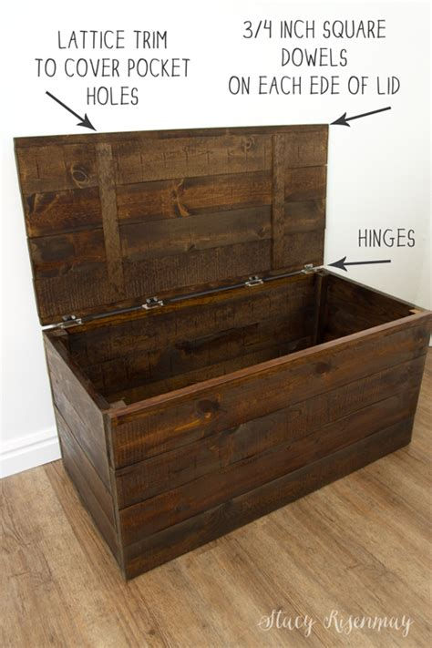 easy  build toy box crate   blog woodworking