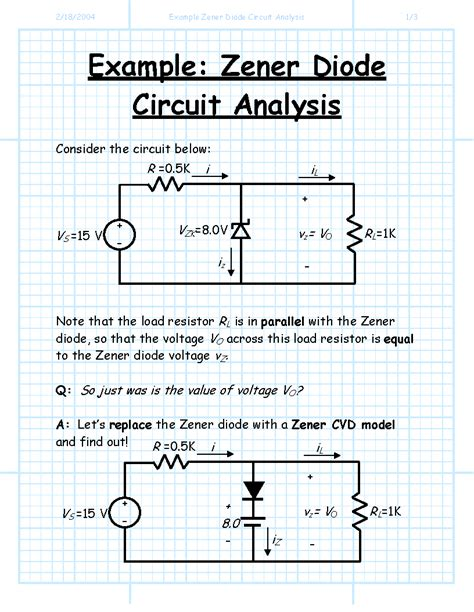 rectifier circuit zener diode zener diode circuits analysis 28 images zener diodes zener diode voltage regulator