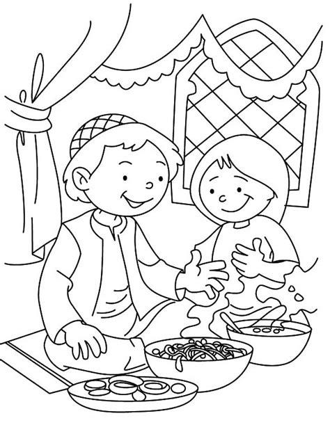 Gambar Mewarnai Untuk Anak Islami Terbaru | gambarcoloring