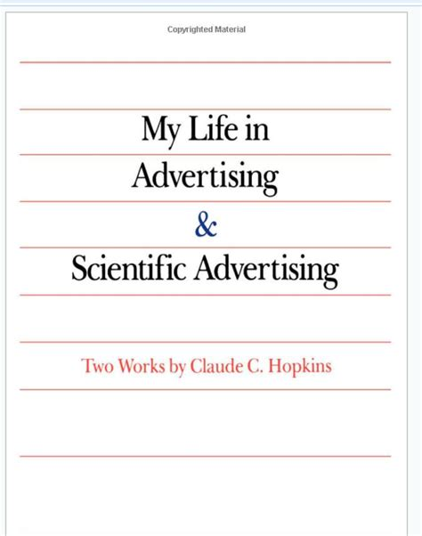 scientific advertising books book review my in advertising scientific