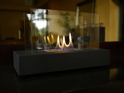 nu incendio tabletop portable ethanol fireplace