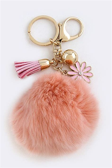 best keychain gadgets pictures to pin on pinterest pinsdaddy 17 best images about pom pom on pinterest bags fox fur