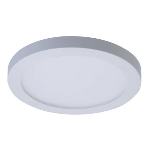 Halo Light Fixture Halo Smd 4 In White Integrated Led Recessed Surface Mount Ceiling Light Fixture With 90