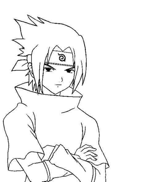 naruto coloring pages sasuke free kids coloring uchiha sasuke naruto cartoon
