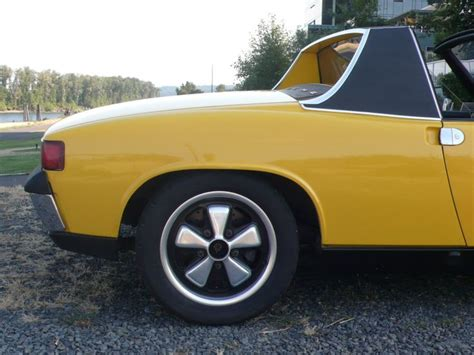 porsche 914 wheels porsche 914 6 with fuchs wheels cars past