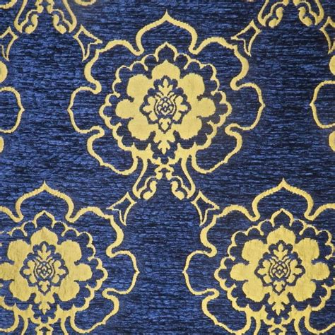 blue and gold upholstery fabric 154 best shopping for home decorating fabrics images on