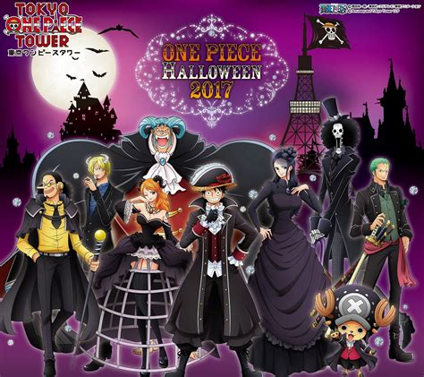 toyko one one piece tower to hold halloween event for over a month