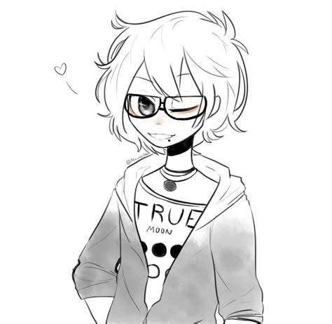 imagenes animes para dibujar dibujo anime a lo yolo xd by mioku nekito on deviantart