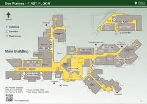 Floor Plan Online Free campus maps oakton community college