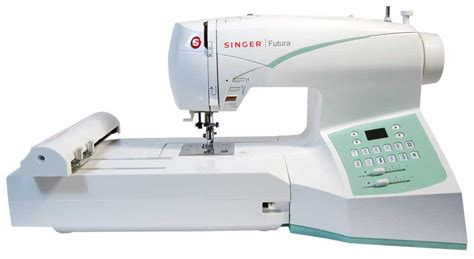 singer futura ce 250 sewing and embroidery machine w software package