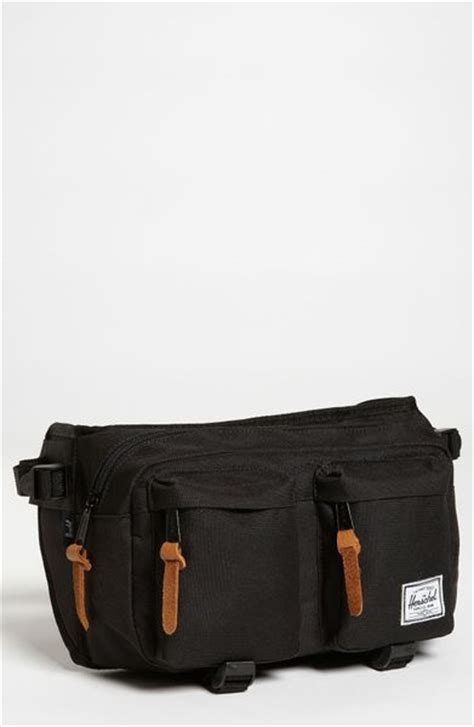 Herschel Supply Hip Back Small herschel supply co eighteen hip pack in black for lyst