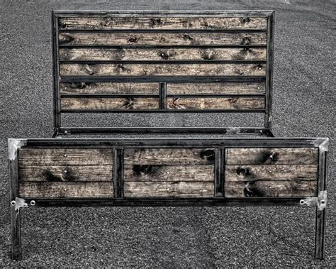 industrial bed frame 17 best ideas about industrial bed frame on pinterest pipe bed industrial
