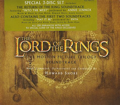 Box Set Original Lord Of The Rings Trilogy howard shore the lord of the rings the motion picture