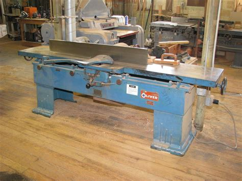 oliver woodworking machinery woodworking oliver 166 cd 16 quot jointer with fence